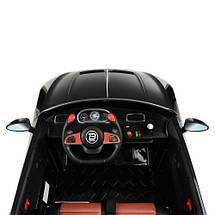 Стильная детская машина Bambi M 4109EBLR-2 черный электромобиль, фото 3