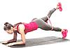 Набор фитнес-резинок 5шт+мешочек для хранения! Эспандер, тренажер., фото 4