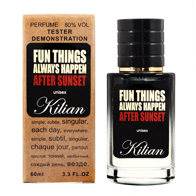 Kilian Fun Things Always Happen After Sunset TESTER LUX, унисекс, 60 мл