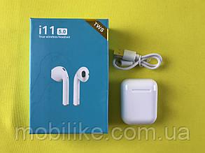 Бездротові навушники TWS i11 SuperBass сенсорні