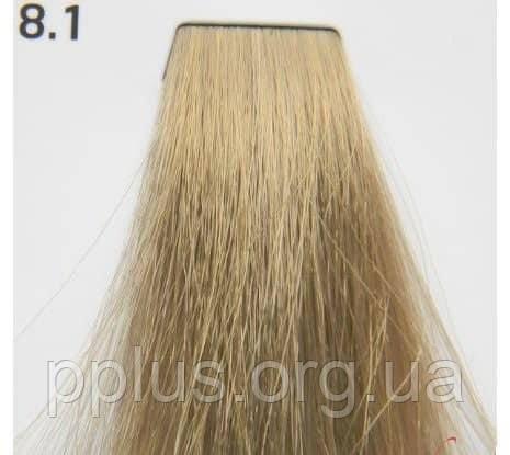 Краска для волос 8.1 Nouvelle Smart Светлый пепельный блондин 60 мл, фото 2