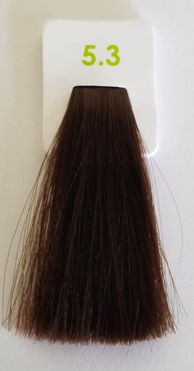 Краска без аммиака 5.3 Nouvelle Lively Hair Color Светло-каштановый 100 мл