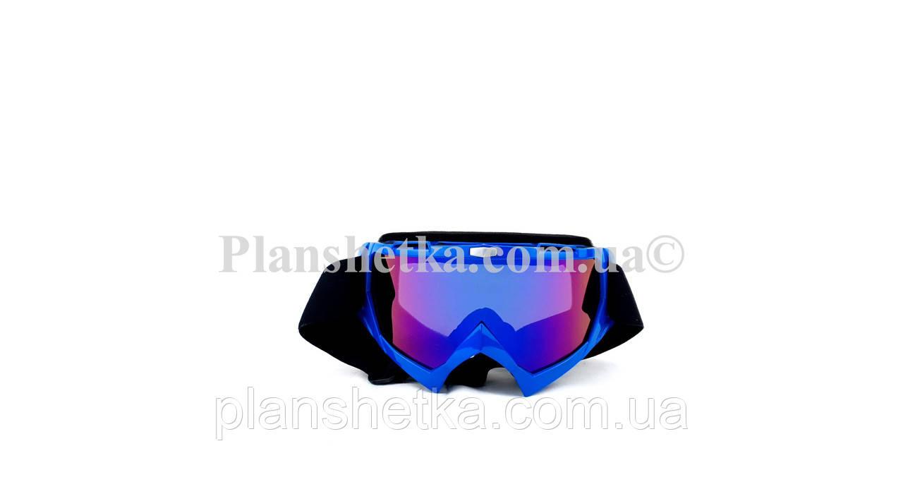 Кросові окуляри 634 motokross сині