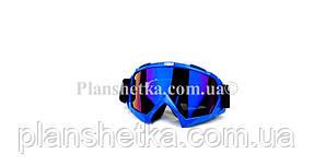 Кросові окуляри 634 motokross сині, фото 2