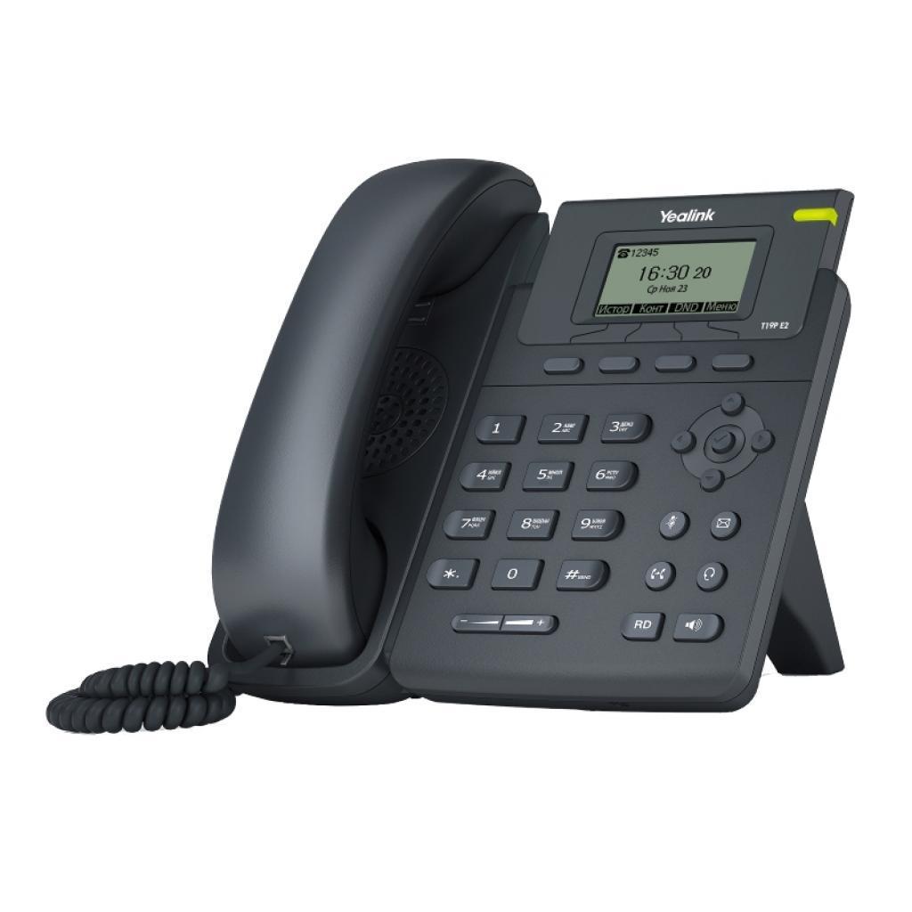 IP телефон Yealink SIP-T19P E2