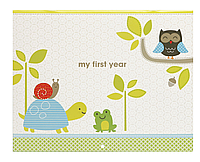 Календарь первого года жизни  (woodland) C.R.Gibson