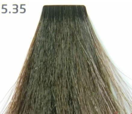 Краска для волос 5.35 Nouvelle Smart Светло-коричневый золотистый махагон 60 мл