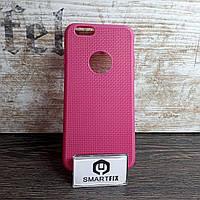 Силиконовый чехол для iPhone 6/6S Розовый (позиция №1), фото 1