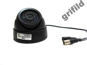 Внешняя цветная камера видеонаблюдения Kronos CCTV 349, фото 3