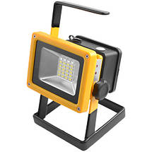 Фонарик ручной прожектор Bailong BL-204 100W от 3x18650 со стробоскопом от сети 220В и от прикуривателя, фото 2