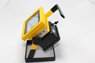 Фонарик ручной прожектор Bailong BL-204 100W от 3x18650 со стробоскопом от сети 220В и от прикуривателя, фото 3