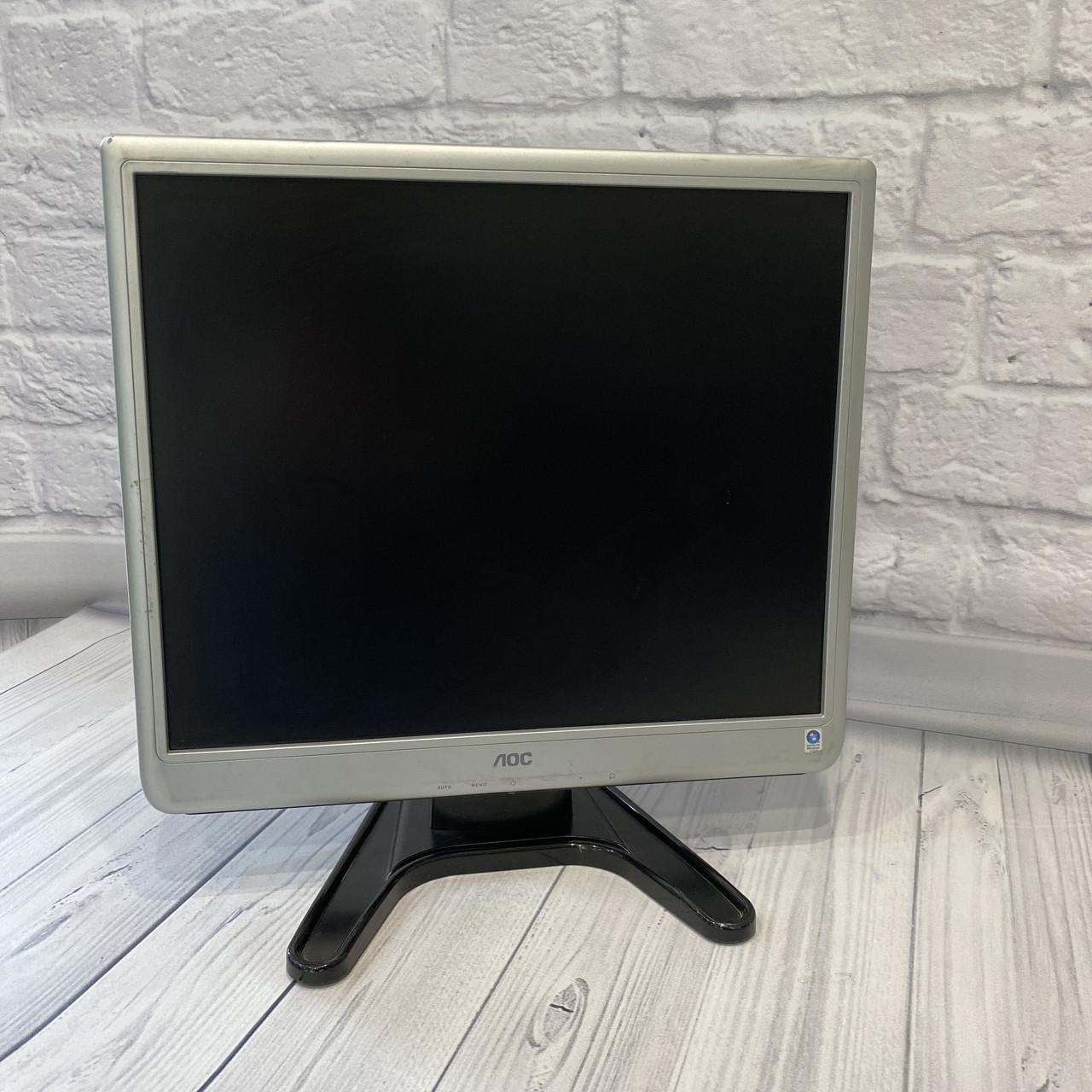 Монитор AOC 19  (Матрица TN / DVI, VGA / Разрешение 1280x1024)