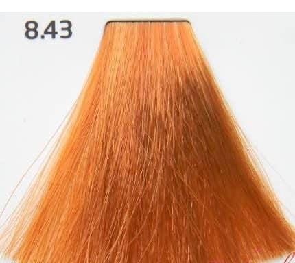 Краска для волос 8.43 Nouvelle Smart Светлый медно-золотистый блондин 60 мл, фото 2