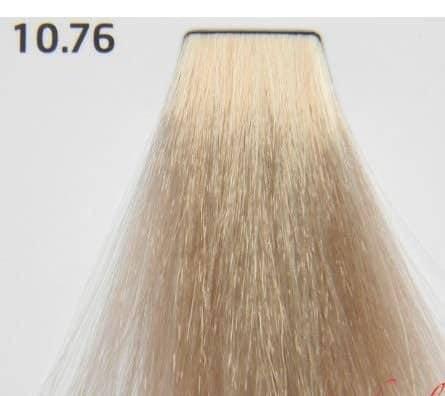Краска для волос 10.76 Nouvelle Smart Платиновый коричнево-красный блондин 60 мл, фото 2