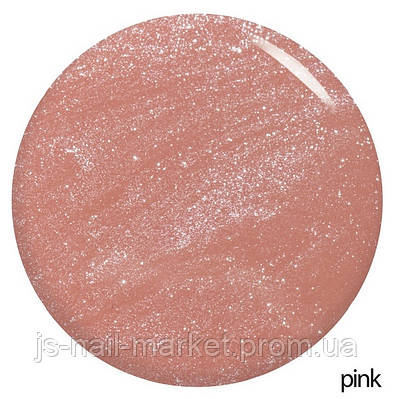 Каучукова основа під гель-лак з шиммером Pink Shimmer Base Coat NUB 8ml