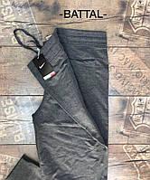 Женские штаны баталы Nike серый. Жіночі штани баталії Nike сірий.