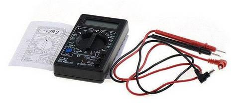 Мультиметр Тестер Цифровой Точный DT- 832, фото 2
