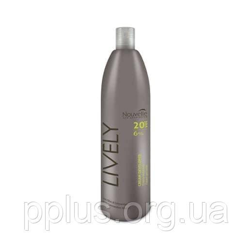 Окислительная эмульсия 9% Nouvelle Lively Hair 1000 мл
