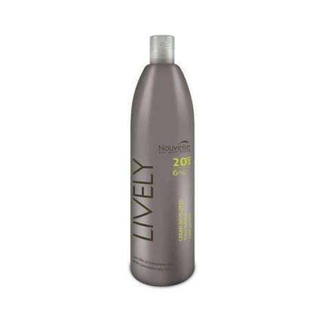 Окислительная эмульсия 9% Nouvelle Lively Hair 1000 мл, фото 2