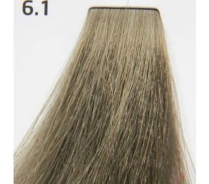 Краска для волос 6.1 Nouvelle Smart Темный пепельный блондин 60 мл, фото 2