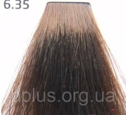 Краска для волос 6.35 Nouvelle Smart Темный золотисто-махагоный блондин 60 мл