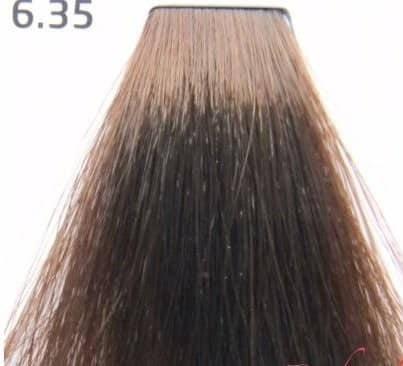 Краска для волос 6.35 Nouvelle Smart Темный золотисто-махагоный блондин 60 мл, фото 2