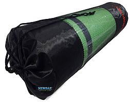 Чехол для коврика высота 70см ширина 30см, черный с сеткой