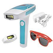 Портативный лазерный эпилятор (фотоэпилятор) Kemei KM 6813 для лица и тела