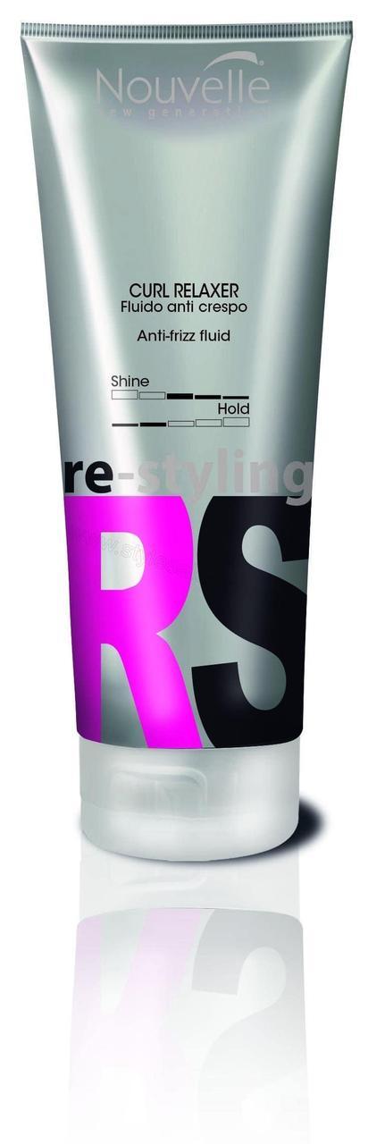 Защитный восстанавливающий крем с выпрямляющим эффектом Nouvelle Curl Relaxer 200 мл