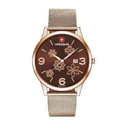 """Часы наручные женские Hanowa 16-3085.09.005 кварцевые, """"миланский"""" браслет, Швейцария"""