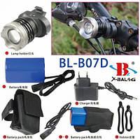 Велосипедный фонарь Велофонарь BL-B07D-T6 (СКЛАД-1шт)