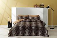 Комплект постельного белья из Сатина двуспальное евро TAC Leopard