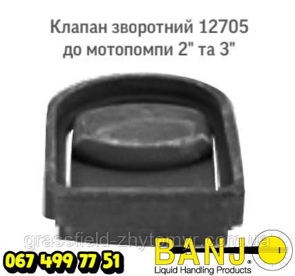 """Клапан зворотній 12705 до мотопомпи 2"""" та 3"""" Оригінал POLYWEST HANDLER IV"""