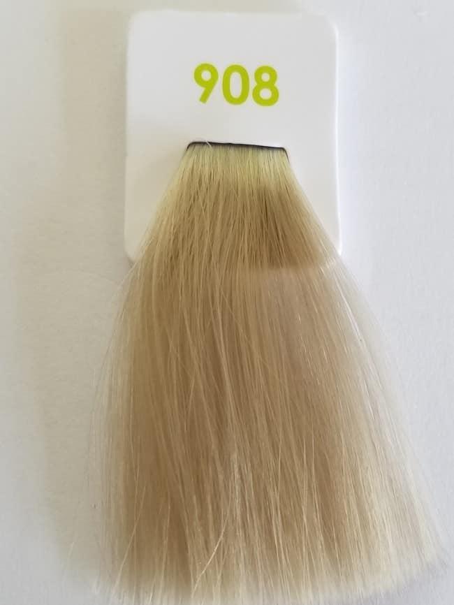 Краска без аммиака 908 Nouvelle Lively Hair Color Перламутровый ультра-светлый блонд 100 мл