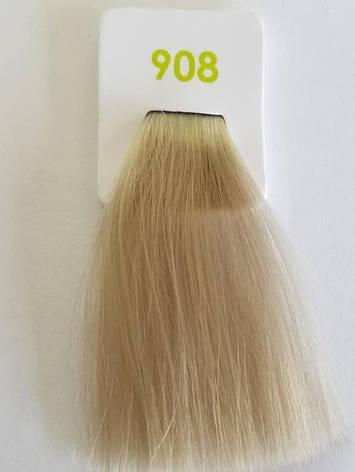 Краска без аммиака 908 Nouvelle Lively Hair Color Перламутровый ультра-светлый блонд 100 мл, фото 2