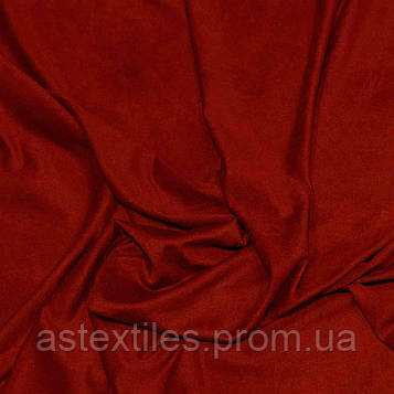 Замша стрейч (червона)
