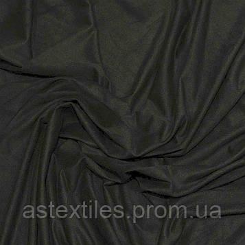 Замша стрейч (темно-сіра)
