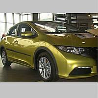 Молдинги на двері для Honda Civic 5Dr H/B 2011-2014 / lift. 2014-2017, фото 1