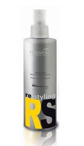 Спрей для блеска волос с защитным эффектом Nouvelle Shiny Hair 250 мл, фото 2
