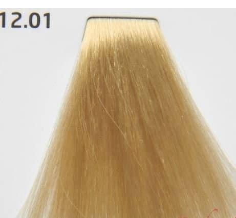 Краска для волос 12.01 Nouvelle Smart Ультрасветлый пепельный блондин плюс 60 мл, фото 2