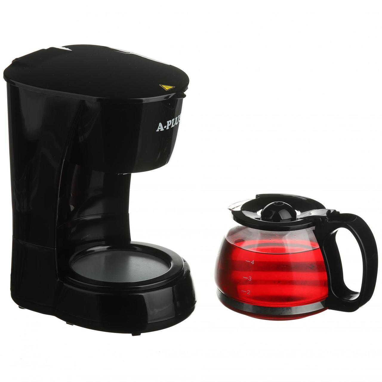 Краплинна кавоварка електрична A-PLUS кавомашина крапельного типу