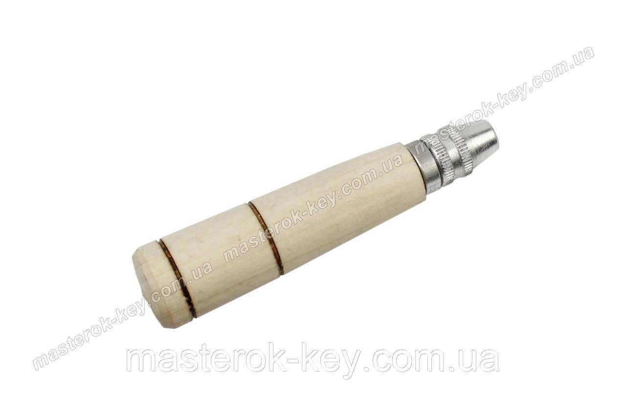 Ручка цанговая для обувного крючка деревянная тип 2