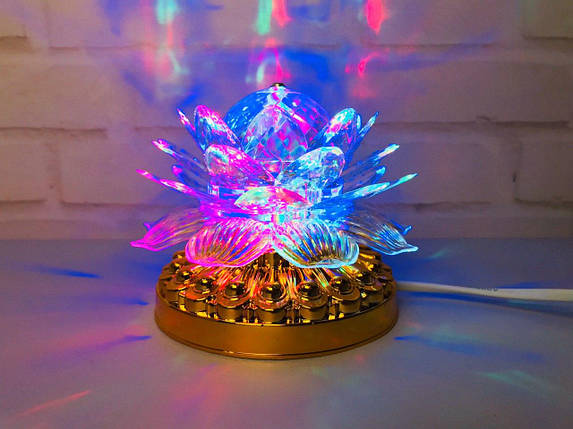 Яркая, Вращающаяся диско лампа Led full color rotating lamp светодиодная G 0073, фото 2