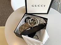 Ремень Gucci кожаный