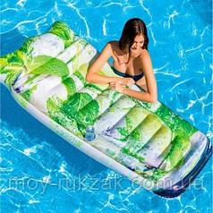 Пляжный надувной матрас «Коктейль Мохито», Intex 58778, 178 х 91 см