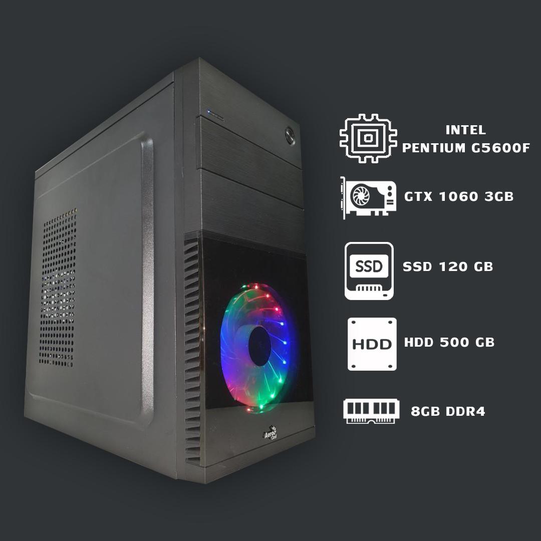 Игровой системный блок на процессоре Intel Pentium G5600F