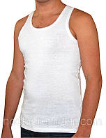 Мужская майка хлопок EZGI Турция белая размер XS-54 (42-44)
