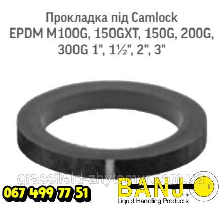 Прокладка під Camlock EPDM M100G Оригінал POLYWEST HANDLER IV