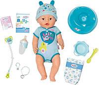 Интерактивный пупс Baby Born Zapf Creation  мальчик 824375