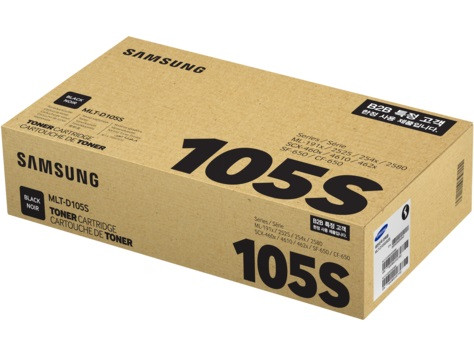 Тонер-картридж Samsung 105S ML-1910/1915/2525 SCX-4600/4623 SF-650 Black 1500 страниц